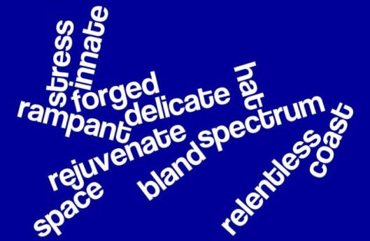The Sunday Whirl - December 9, 2012 Wordle #86