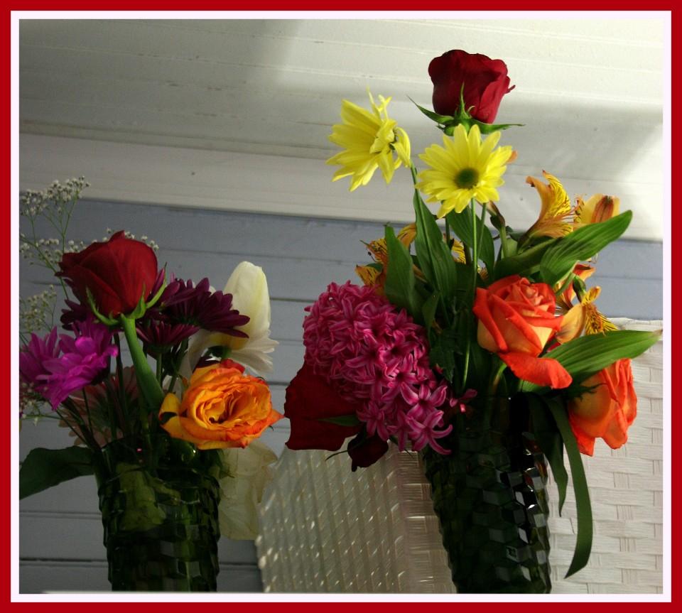 Easter Flowers from Debbie